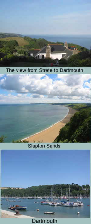 View from Strete to Dartmouth
